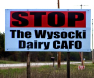 Stop the Wysocki Factory-CAFO Farm
